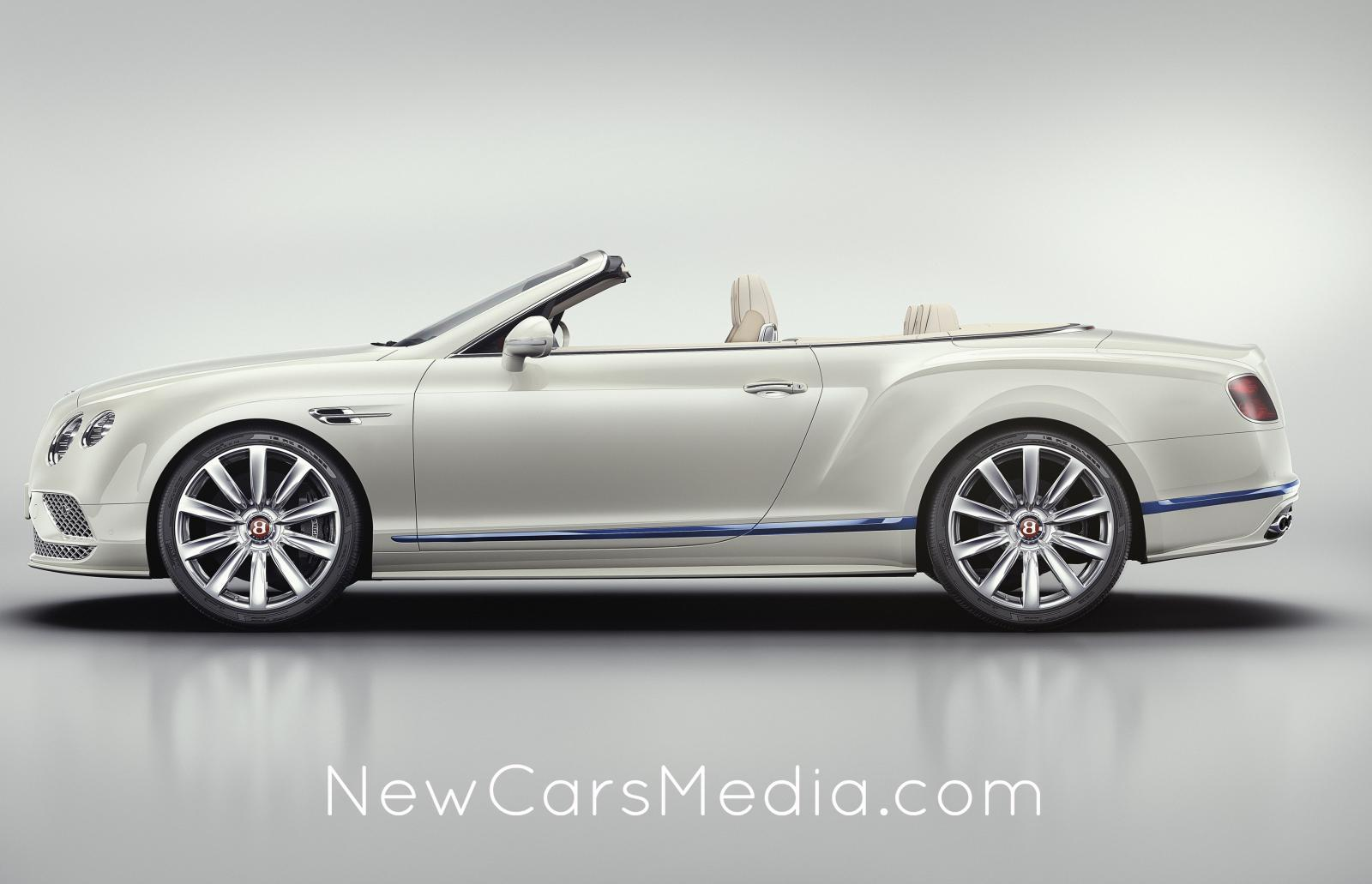Bentley Continental GT Convertible Galene Edition 2017