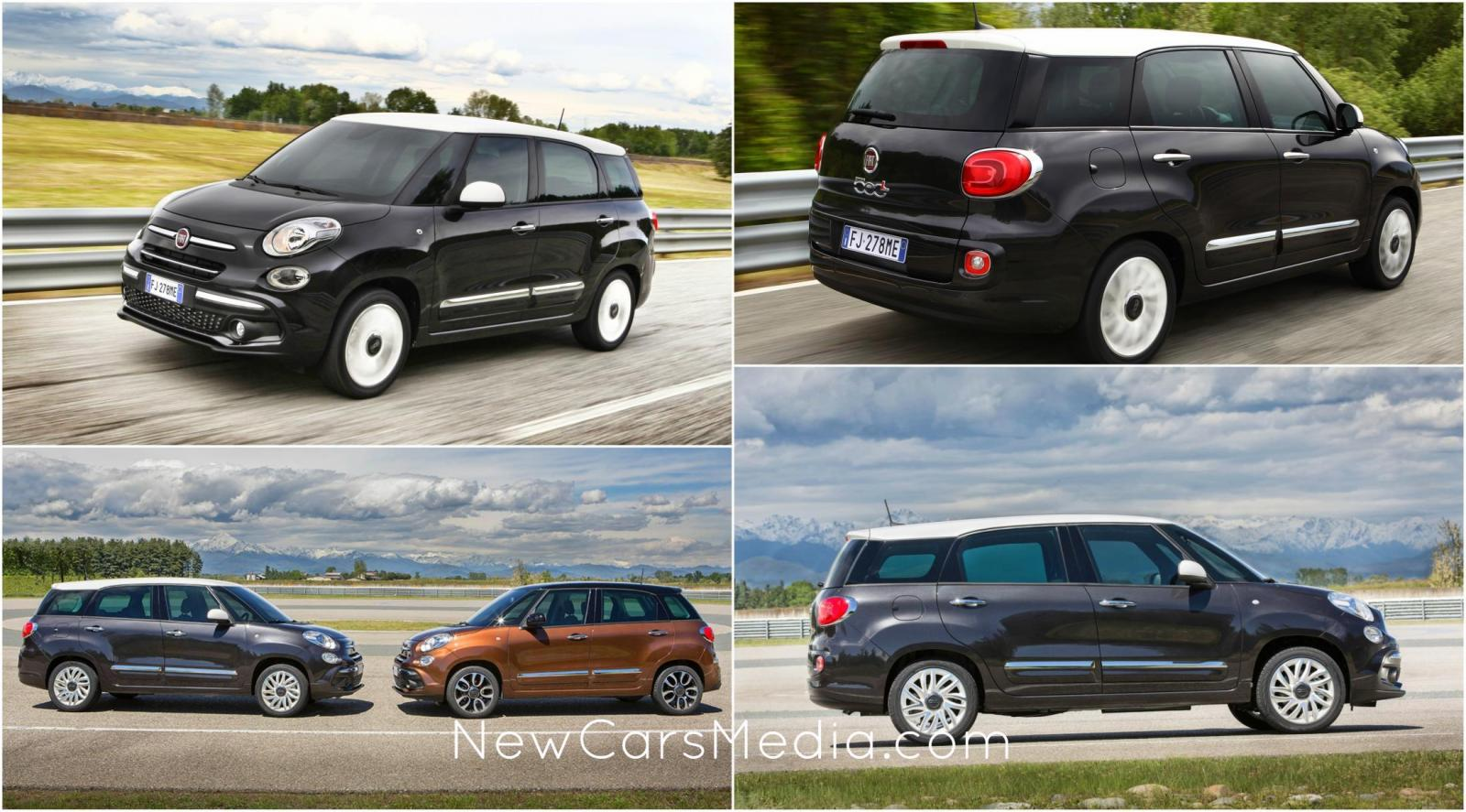 fiat 500l 2018 review photos specifications. Black Bedroom Furniture Sets. Home Design Ideas
