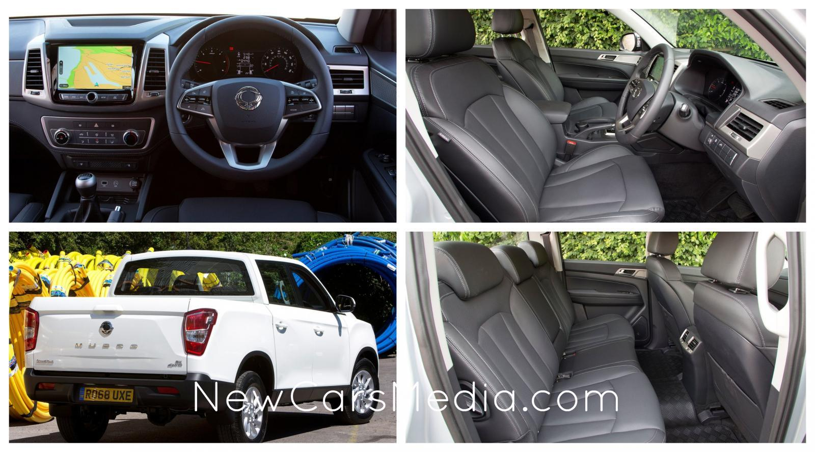 SsangYong Musso 2018-interior design